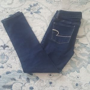 AE skinny super stretch jegging jeans American